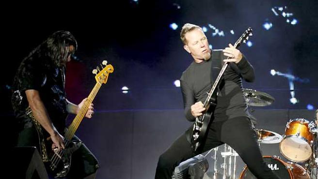 Metallica no fallaron en Madrid.