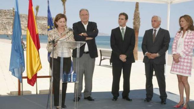 Elena Espinosa, hoy en Melilla