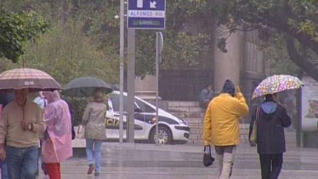 Lluvias en Santander
