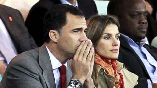 Los Príncipes de Asturias en una imagen de archivo.