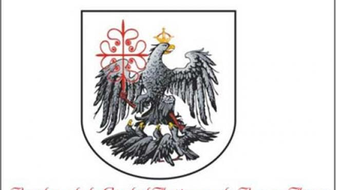 Imagen del escudo de la bandera de Buenos Aires.