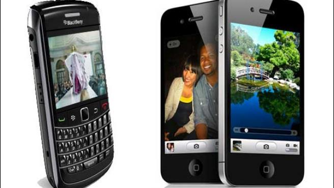 Los diputados han elegido entre una Blackberry y un iPhone.