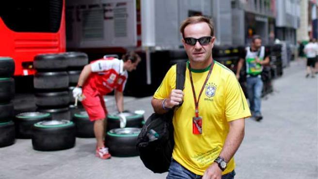 Rubens Barrichello es el piloto en activo con más carreras disputadas en la Fórmula 1.