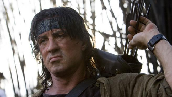 Sylvester Stallone en una escena de 'John Rambo'.