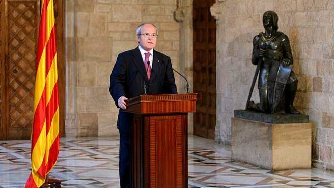 José Montilla, en su intervención tras conocerse la sentencia.