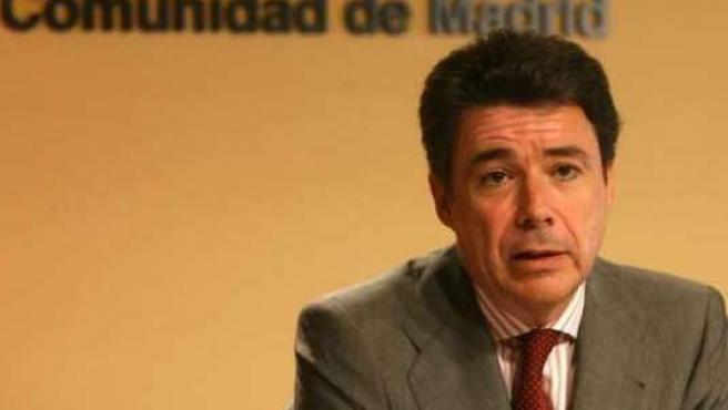 El vicepresidente de la Comunidad de Madrid, Ignacio González.