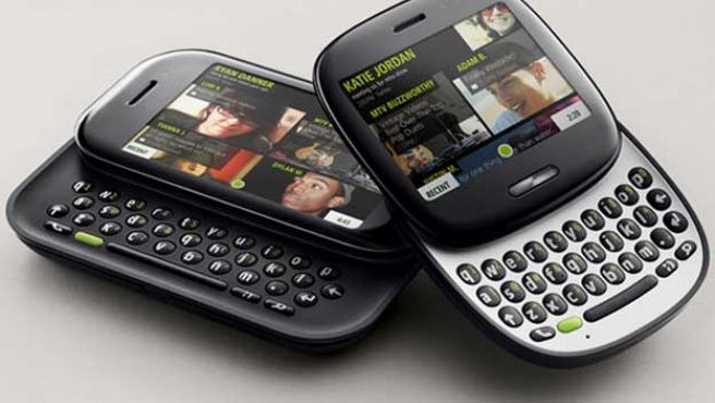 Los teléfonos móviles Kin One y Kin Two.