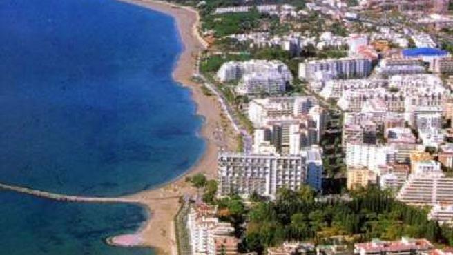 La playa de Marbella es uno de los casos más representativos de degración por un crecimiento urbanístico descontrolado.