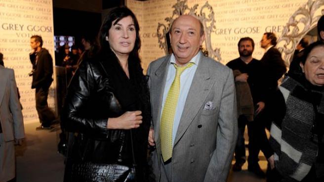 Carmen Martínez-Bordiú, en la Cibeles Madrid Fashion Week.