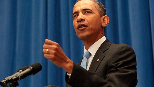 El presidente de EE UU, Barack Obama, en una imagen de archivo.