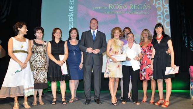 Entrega de los Premios Rosa Regás