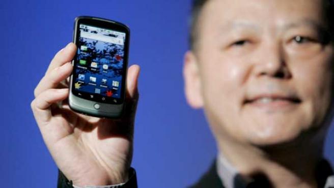 Fotografía de la presentación de Nexus One.