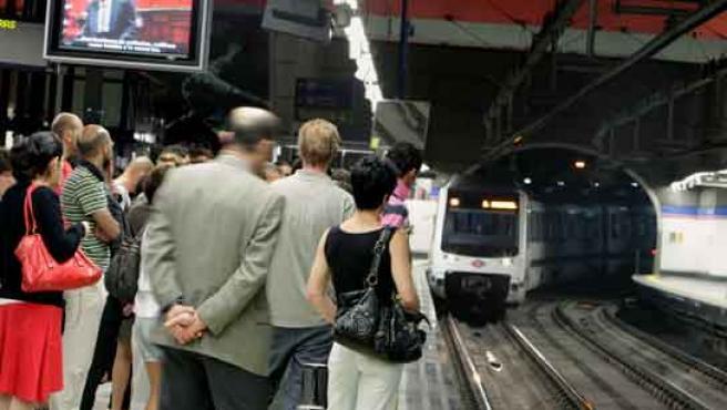 El Metro de Madrid ha recuperado cierta normalidad en la cuarta jornada de huelga.