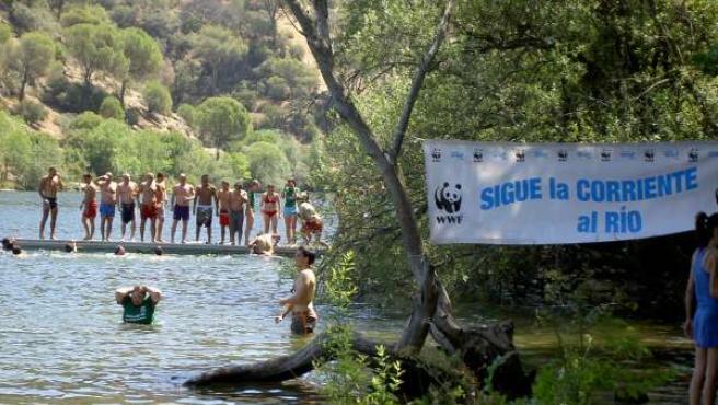 Cientos de participantes a punto de dar el 'Gran Salto' en 2009