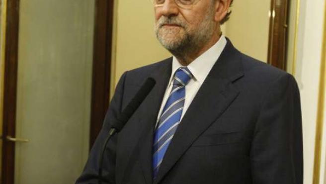 líder del PP, Mariano Rajoy