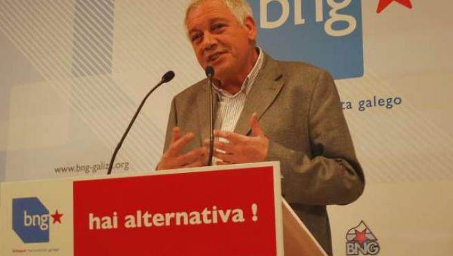 El portavoz nacional del BNG, Guillerme Vázquez