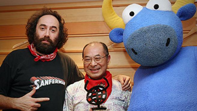 El fotógrado Sugawara recibe el premio al 'Guiri del año'