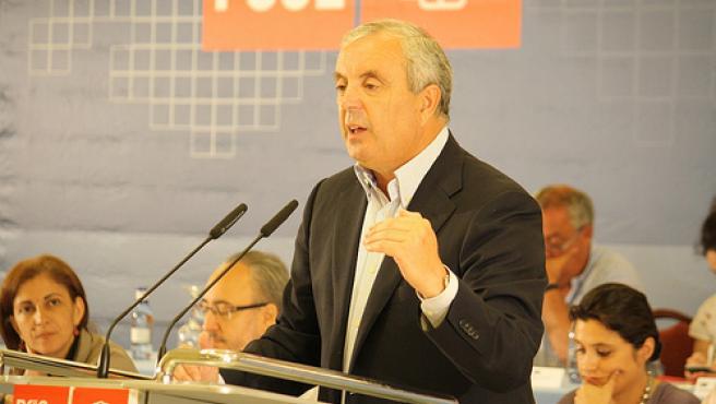 Pachi Vázquez en el Comité Nacional del PSdeG
