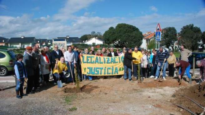 Imagen de archivo de una concentración de AMA