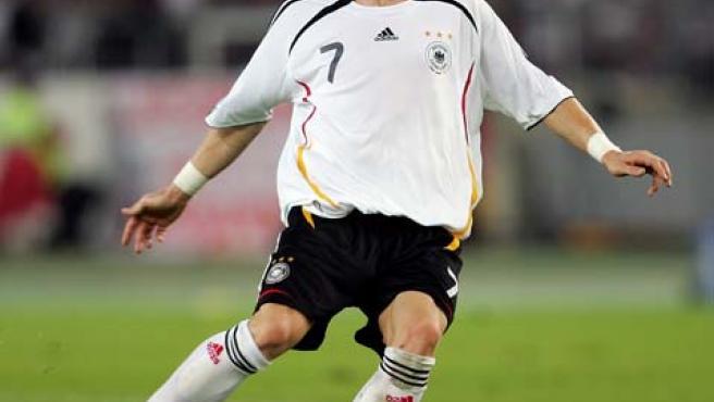 Bastian Schweinsteiger, durante un partido.