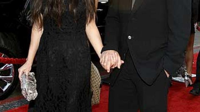 Mel Gibson y Oksana Grigorieva, en una imagen de archivo.