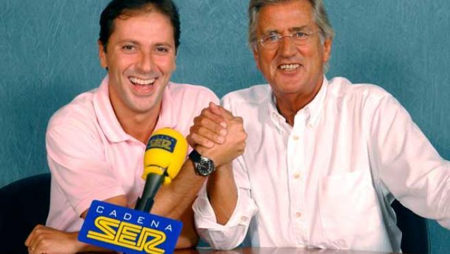 Paco González y Pepe Domingo Castaño, que hacían Carrusel Deportivo en la Ser, han fichado recientemente por la Cadena Cope.