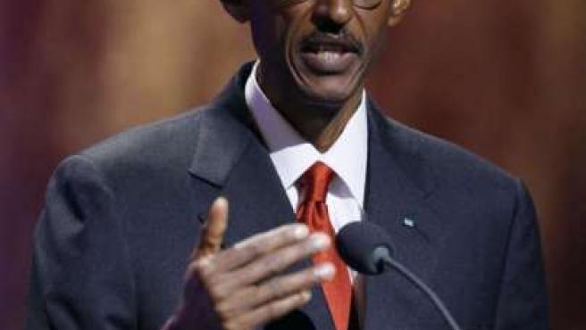 El presidente de Ruanda, Paul Kagame.