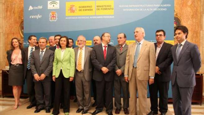 Constitución de la sociedad 'Almería Alta Velocidad'