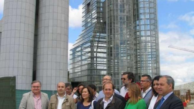 Delegación del PSdeG a la Cidade da Cultura