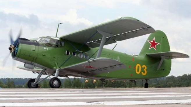 Avión Antonov, Festival Aéreo de Gijón