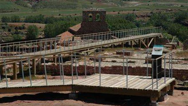 Yacimiento arqueológico de Tiermes (Soria)