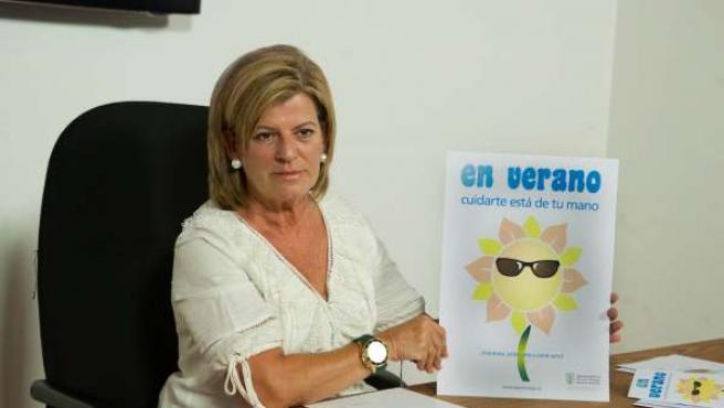 La concejala de Salud Ambiental de Las Palmas de Gran Canaria, Inmaculada Medina