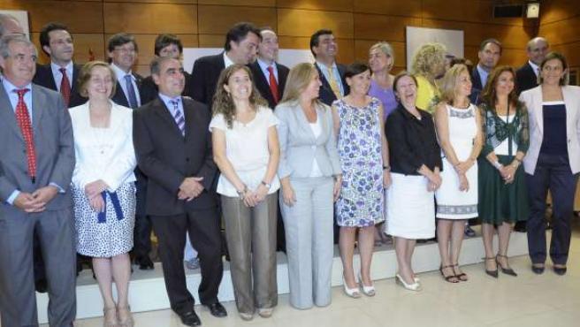 Celebración del Consejo Interterritorial del Sistema Nacional de Salud en Madrid