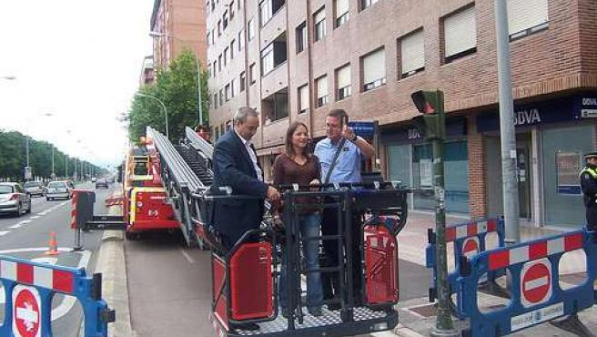 El concejal de Seguridad Ciudadana, José Manuel Bully, sobre el camión