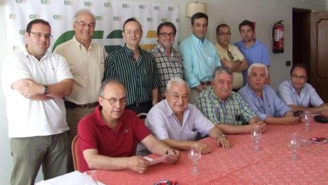 Integrantes del sindicato
