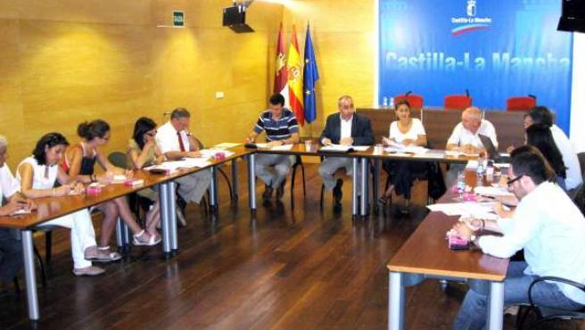 La consejera preside la Comisión Regional de Seguridad