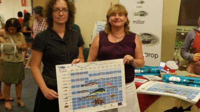 Arbona y Tugores, con el calendario de pescado de temporada.