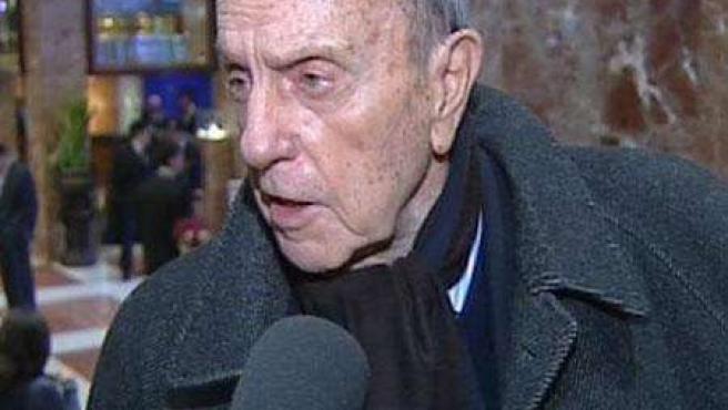 El senador del PP, Manuel Fraga