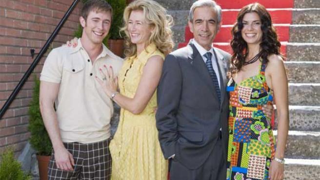 La familia Alcántara, lista para una nueva temporada de 'Cuéntame lo que pasó'.