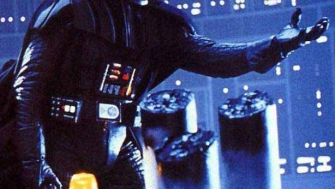 Un fotograma de Darth Vader en la saga de 'La guerra de las galaxias'.