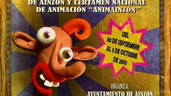 Cartel anunciador del festival, obra de Pablo Llorens