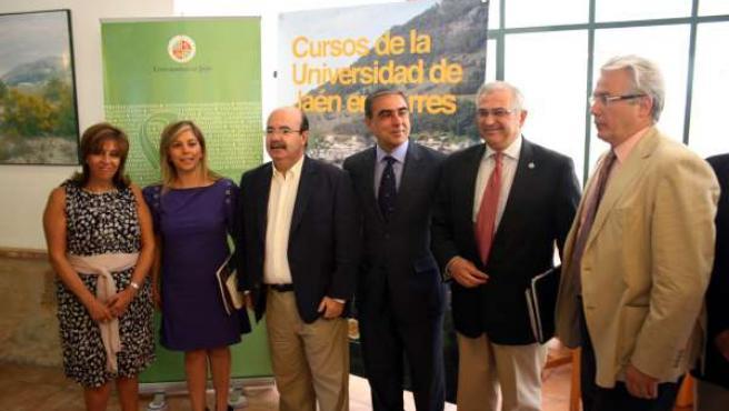 Inauguracion Foro Salud en Torres (Jaén)