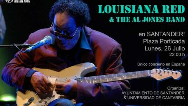 Louisiana Red En Santander, 26 De Julio En Plaza Porticada