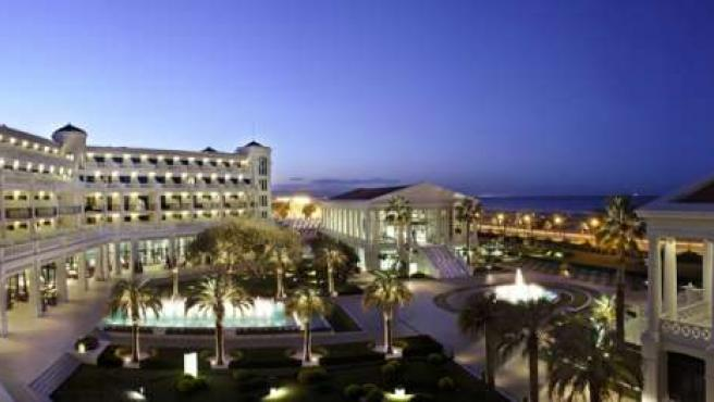 El hotel Las Arenas de Valencia