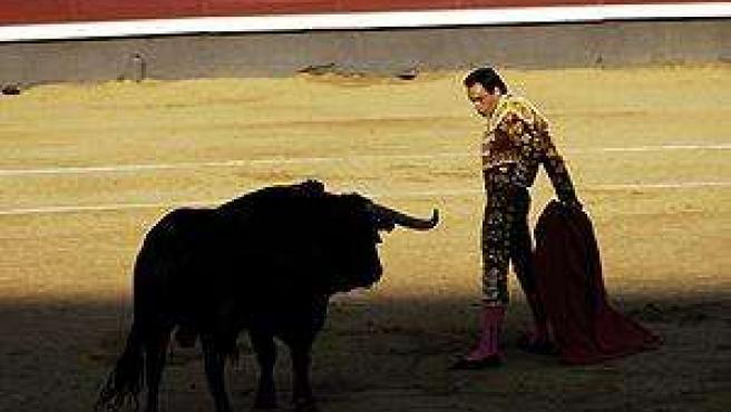 Torero delante del toro