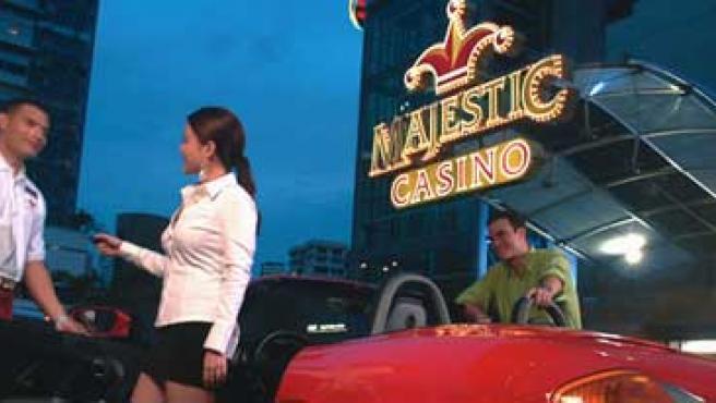 Imagen del Casino Majestic de Panamá.