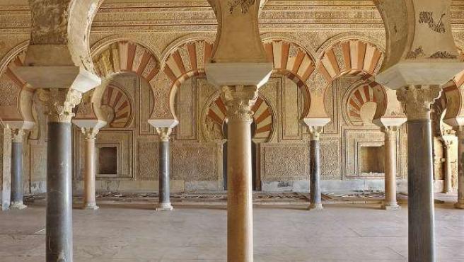 El Salón Rico, en Medina Azahara