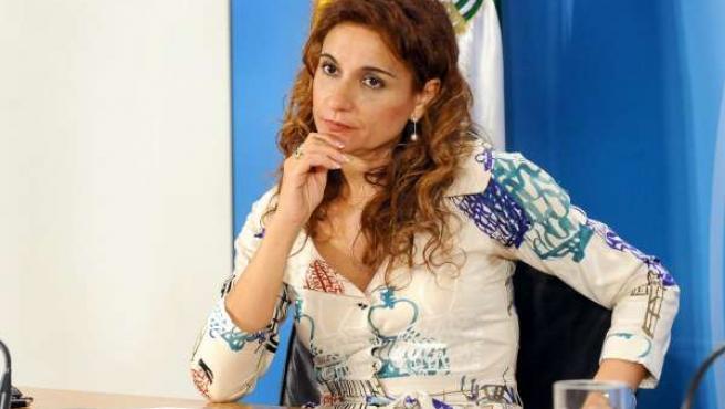 La consejera de Salud andaluza, María Jesús Montero