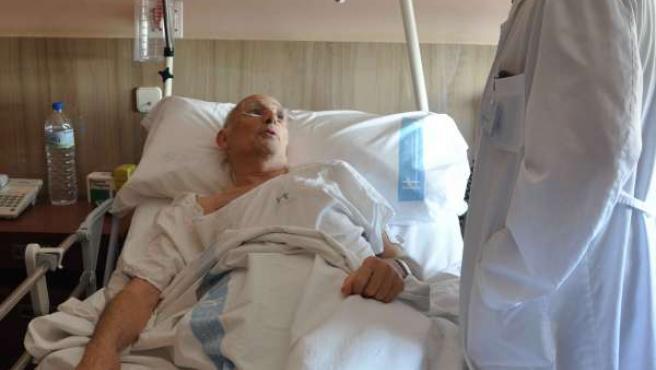 Funcis trabaja con pacientes del Hospital Doctor Negrín