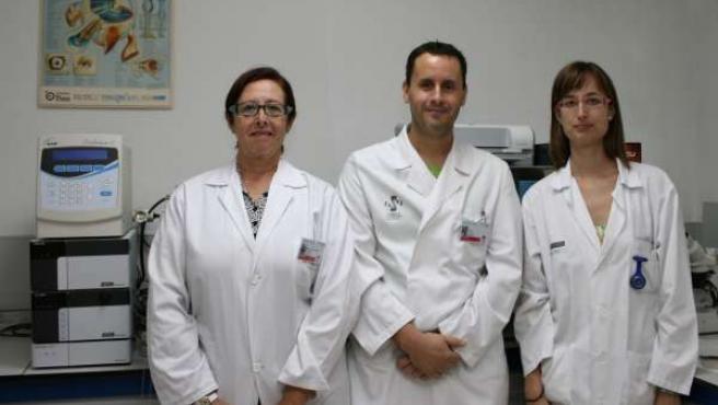 Los expertos Mª Dolores Pinazo, Raúl Cosin y Sheila Pons